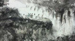 Traditioneel werk (detail)