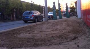 Zandwerk voor workers